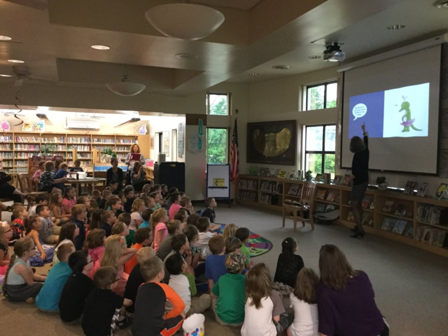 Kathryn Hannigan author visit