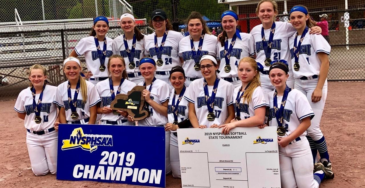 2019 Class D Softball Champs