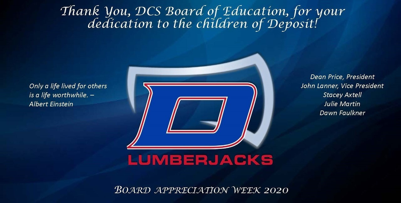 Thank You, Board of Education